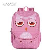 Kids 3D Animal Backpacks Baby Girls Boys Toddler Schoolbag Children Cartoon Owl Bookbag Kindergarten Toys Gifts School Bags