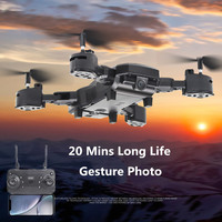 20 Mins Flying Time WIFI FPV RC Drone Folding Drone Toy With HD 1080P Wifi Camera Quadrocopter Hovering FPV Quadcopter VS S28