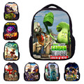 Cartoon Backpack 3D Printing School Bags Plants vs Zombies PVZ For Teenagers Girls Boys Backpacks Horse Children Kids Bag Gift