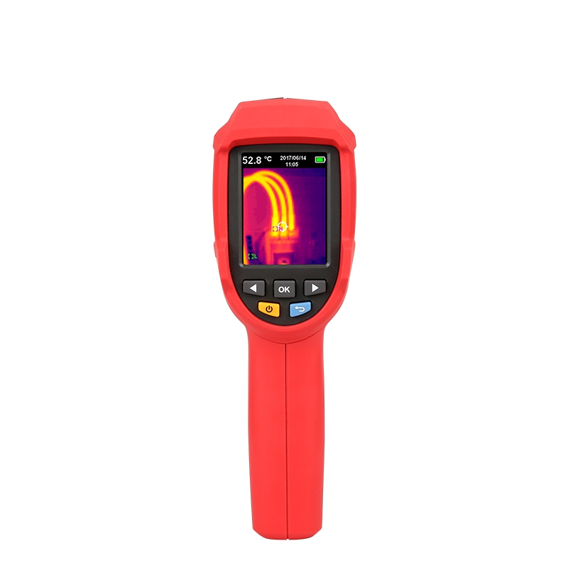 UNI-T UTi80 Thermal Imaging Camera Infrared Thermometer Imager -30C to 400C Degree 4800 pixels  High Resolution Color Screen freeshipping seek thermal compact pro 610 meters hunting thermal imager camera infrared night vision goggles flir thermal imager