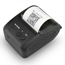 купить Free Shipping Bluetooth Thermal Receipt Printer 58mm Pocket Ticket/Bill Printer support Android IOS for ESC/POS terminal RD-D58 по цене 2005.39 рублей