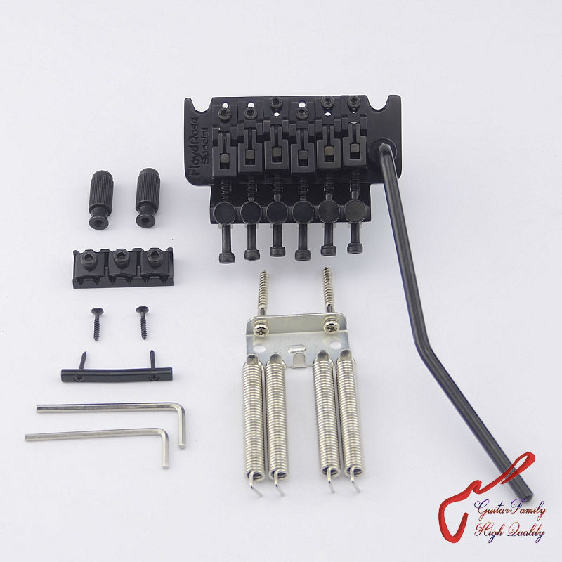 Genuine Original Floyd Rose Special Series Tremolo System Bridge FRTS2000 Black ( without original package ) MADE IN KOREA genuine original floyd rose 5000 series electric guitar tremolo system bridge frt05000 black nickel cosmo without packaging