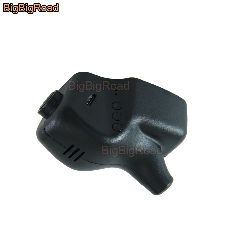 BigBigRoad Car wifi DVR Video Recorder dash cam Camera For Skoda Yeti Fabia Octavia A5 A7 2 Rapid 1 2 3 Superb with rain sensor