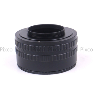 Image 4 - Pixco M42 Lens M42 Kamera Ayarlanabilir Odaklama Helicoid Halka Adaptörü 35 90mm Makro Uzatma Tüpü M42 M42 35 mm 90mm