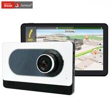 """Junsun 7 """"pojemnościowy Nawigacja Samochodowa GPS Android Kamera DVR Rejestrator Samochodowy Full HD 1080 P Bluetooth WIFI Ciężarówka gps navigator Sat nav"""