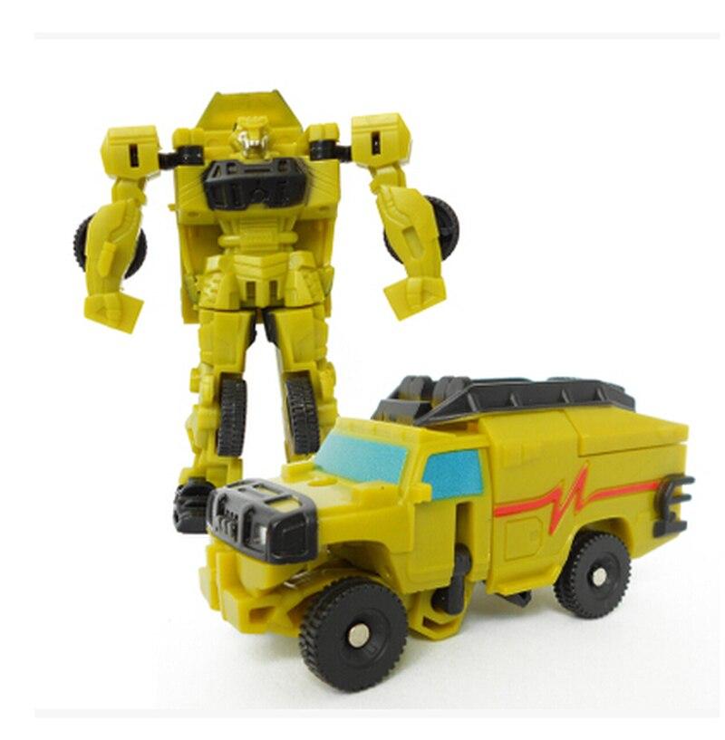 1 шт. робот конверсионная игрушка мини Трансформеры дети классический автомобиль детская игрушка действие и игрушки Цифровой фестиваль идеальный подарок