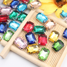 High Quality Sewing Crystal Stone Rhinestone Hot sale Sew on with Silver Base Strass for Clothing Bags