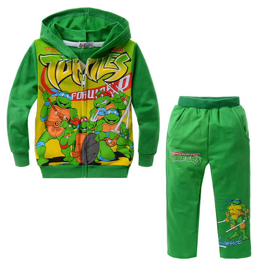 Hotsale Clothing Set Character Kids Boys Clothes Cotton Material Full Sleeve Hoodies + Pant 2Pcs Children's Sport Suits 16061917