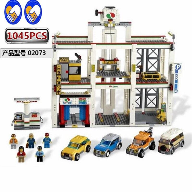 A Toy A Dream Lepin 02073 Genuine 1045Pcs Assemblage City Series The City Garage Set 4207 Building Blocks Bricks Toys dream a dream лежебоки розовый