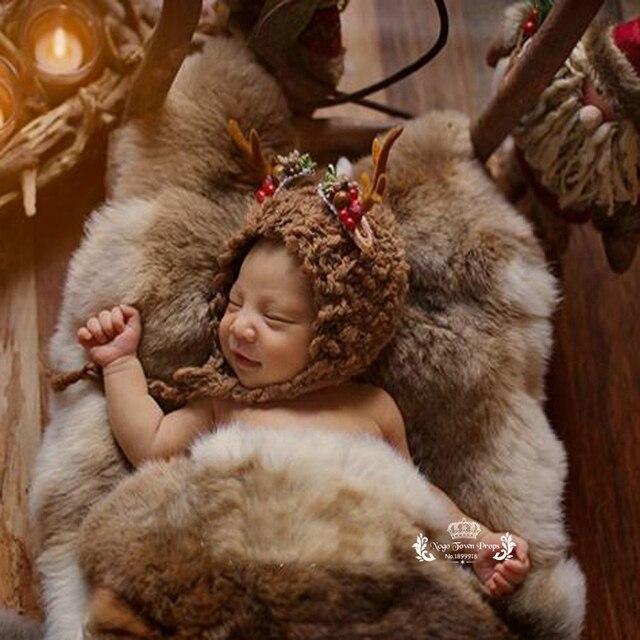2018 new newborn photography props fur layers ecologically sourced fur photo prop rabbit pelt rabbit hide