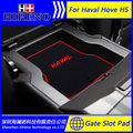 Acessórios do carro para 2013-2016 Great Wall Haval H5 Hove anti derrapante adesivo pad ranhura portão porta tapete tapetes tapete de Porta Interior Copa Titular