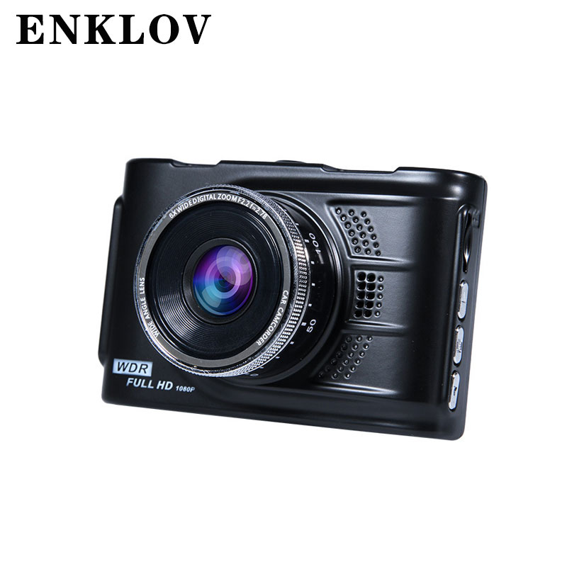 ENKLOV Driving Recorder 3.0 Inch Metal Body Driving Recorder 170 Wide Angle Cam Night Vision Car DVR Camera HD 1080P bear dfh s2516 electric box insulation heating lunch box cooking lunch boxes hot meal ceramic gall stainless steel