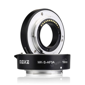 Image 3 - Meike MK S AF3A Metal Auto Focus Macro Extension Tube 10mm 16mm for Sony Mirrorless a6300 a6000 a7 a7SII NEX E Mount Camera