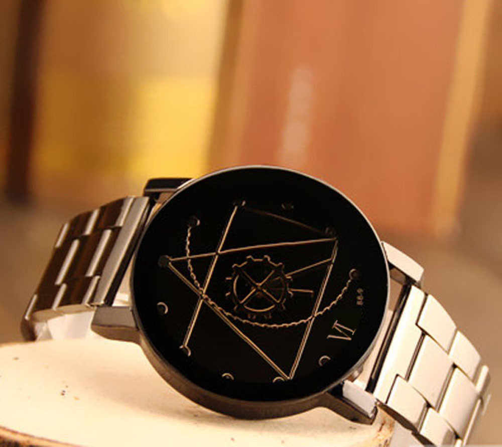 Vrouwen & Mannen Crystal Rvs Analoge Quartz Horloge Quartz Horloges voor mannen Kristal Armband Relogio Feminino klok