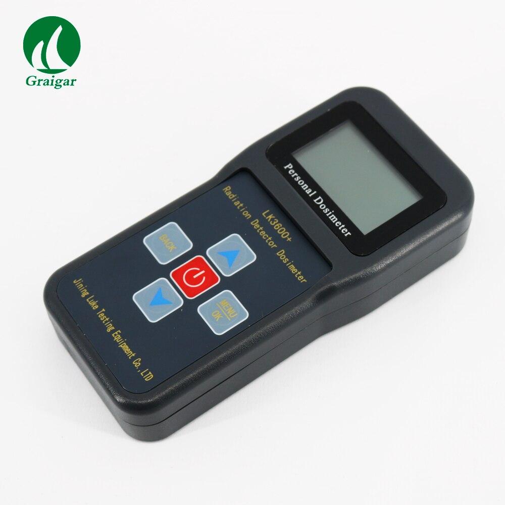 Persönliche Kern Strahlung Detektor Tragbare Dosimeter Alarm LK3600 + Monitor X gamma und harte beta rays