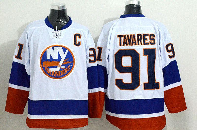 5e95c142c89 2016 New York Islanders Jerseys John Tavares Jersey Ice Hockey 91 Black  Premier ...