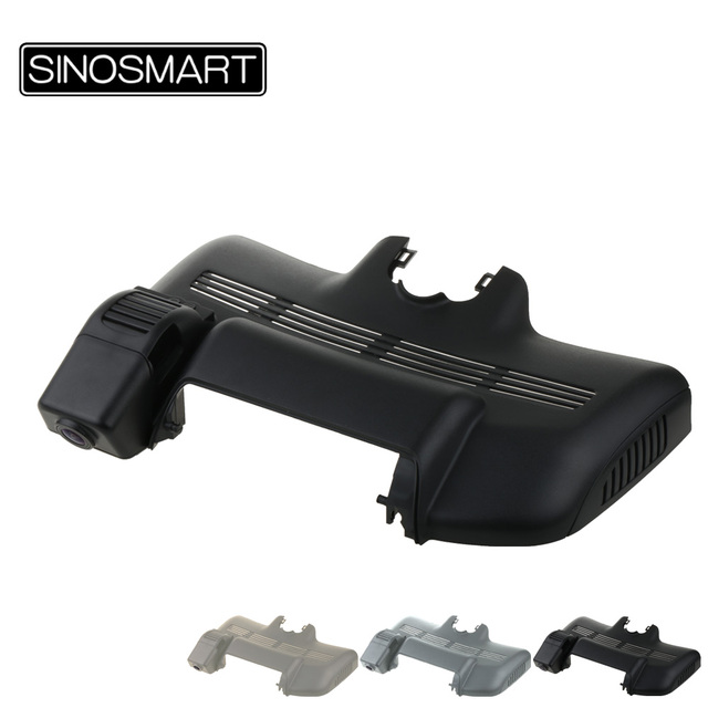 SINOSMART 96658 Car Wifi DVR for Mercedes BenzS320L 2015/S300/S320/S350/S400/S450/S500/S600(S40 3door only) W222 Control by App