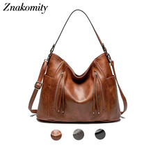 Znakomity vintage casual crossbody bags for women handbag female shoulder bag large capacity fashion style ladies bag black gray недорго, оригинальная цена