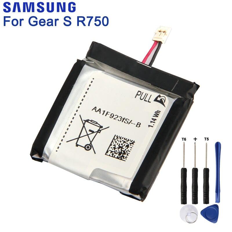 Original Samsung Battery For SAMSUNG Gear S SM-R750 R750 Genuine Battery 300mAhOriginal Samsung Battery For SAMSUNG Gear S SM-R750 R750 Genuine Battery 300mAh