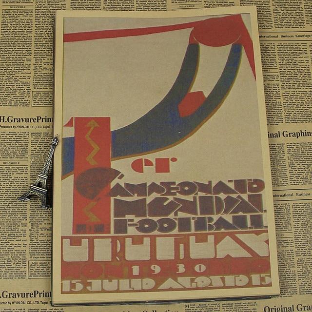 Vintage uruguay coupe du monde 1930 football affiche for Acheteur maison du monde