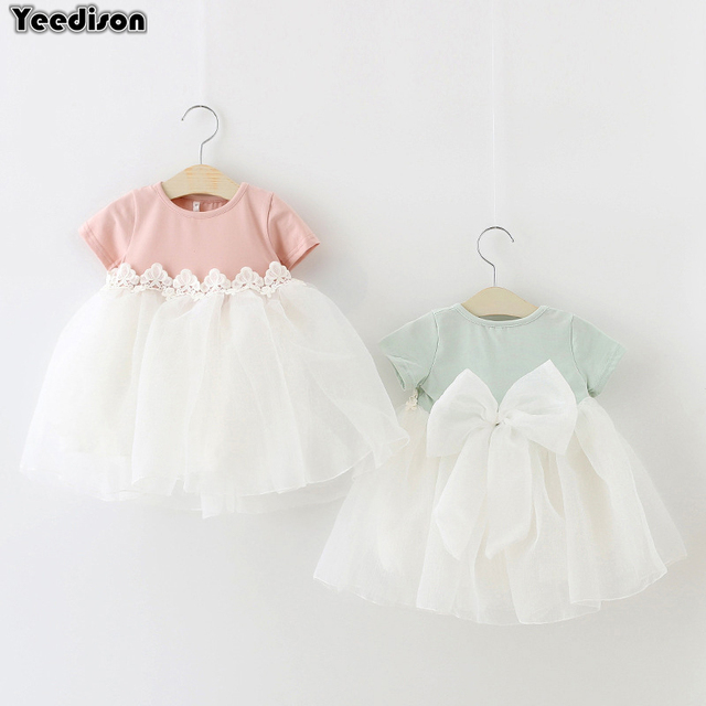 bd0ad909cf84 Baby Dresses 2018 Summer Cotton Newborn Christening Dress For Baby ...