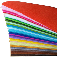 20X30CM1MM Thick Felt Fabric Polyester Non-woven DIY Crafts Cloth Feutrine Fieltro Feltro 40 colors/lot