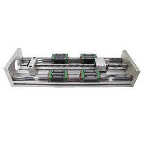 Image 5 - HGR20 prowadnica liniowa stolik przesuwny SFU1605 śruba pociągowa Nema 23 moduł silnika do części drukarki 3d XYZ ramię robota zestaw