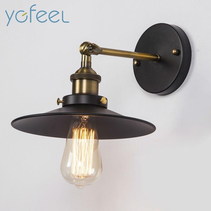 ᗜ Ljഃ[Ygfeel] Lámparas de pared país americano estilo retro pared ...