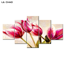 ФОТО Wall Home Decor Living Room Flowers Home Decoration Canvas Painting Modular Pictures Canvas Posters Wall Art Drop