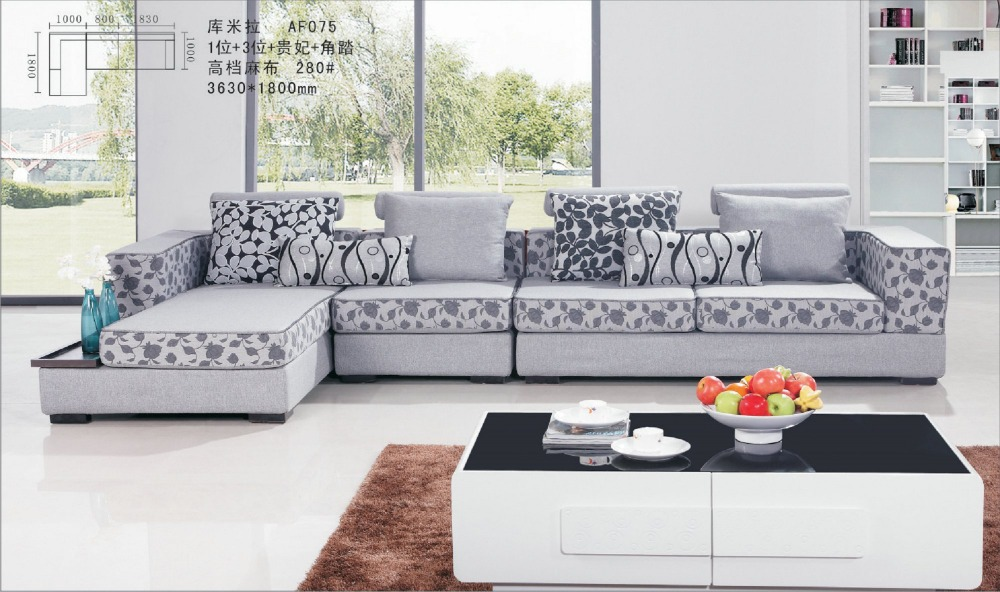 Quality fabric sofas sofa awesome sofas fabric for with for Quality modern living room furniture