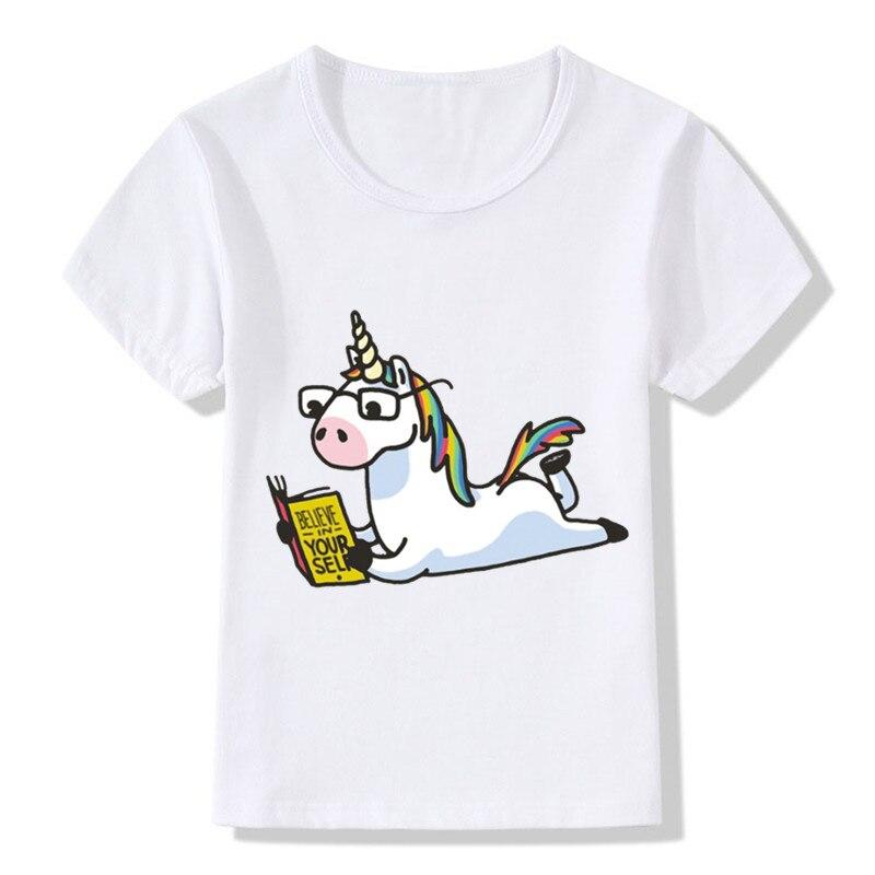 New 2018 Children Cartoon Funny Short Sleeve T-shirt For Boy Girl Tshirt Clothes Kid Tee Tops Costume