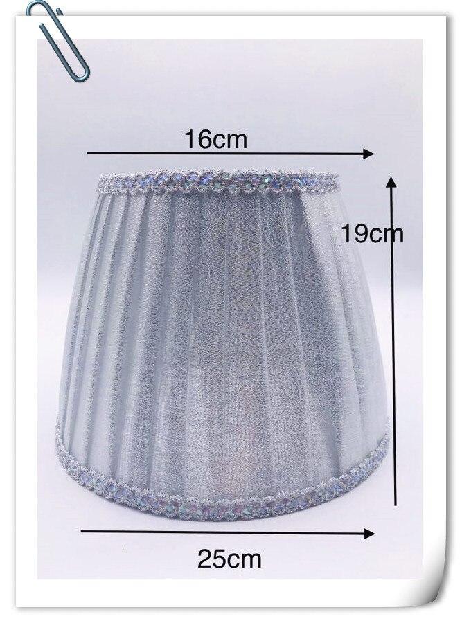 Pantalla de lámpara para lámpara de mesa, lámpara de tela plateada, lámparas de sombra, Lámpara decorativa de moda E27, lámpara de mesa de dormitorio Para Mitsubishi Outlander 2004 2005 2006 cubierta de lámpara faro sombra faros Shell pantalla faro cristal lente de faro