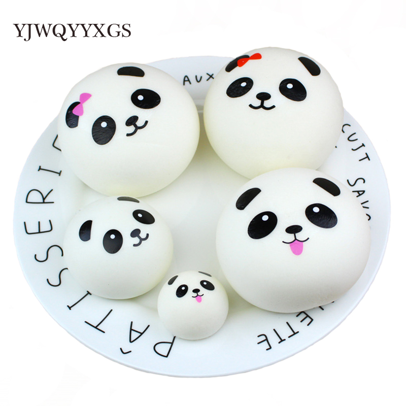 Squishy Panda Bun Squishy Slow Rising Cream Scented Decompression Toy Squeeze Healing Toy Kawaii Kids Stress Reliever Gift