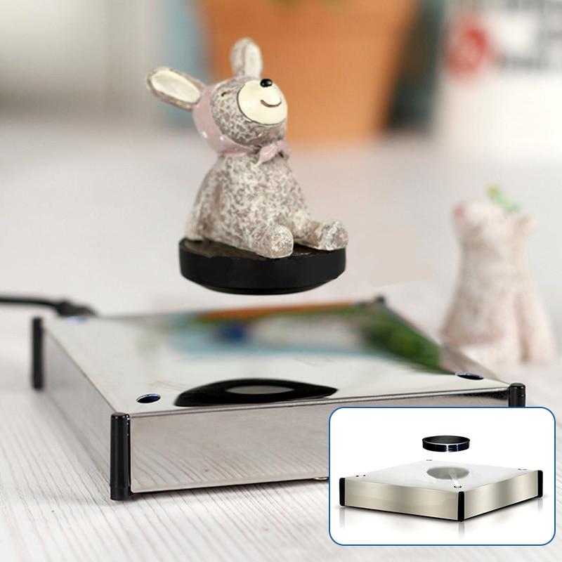 Rotating Magnetic Levitation Floating Show Shelf Holder Display Platform Product Display Base Magnetic Display Holder