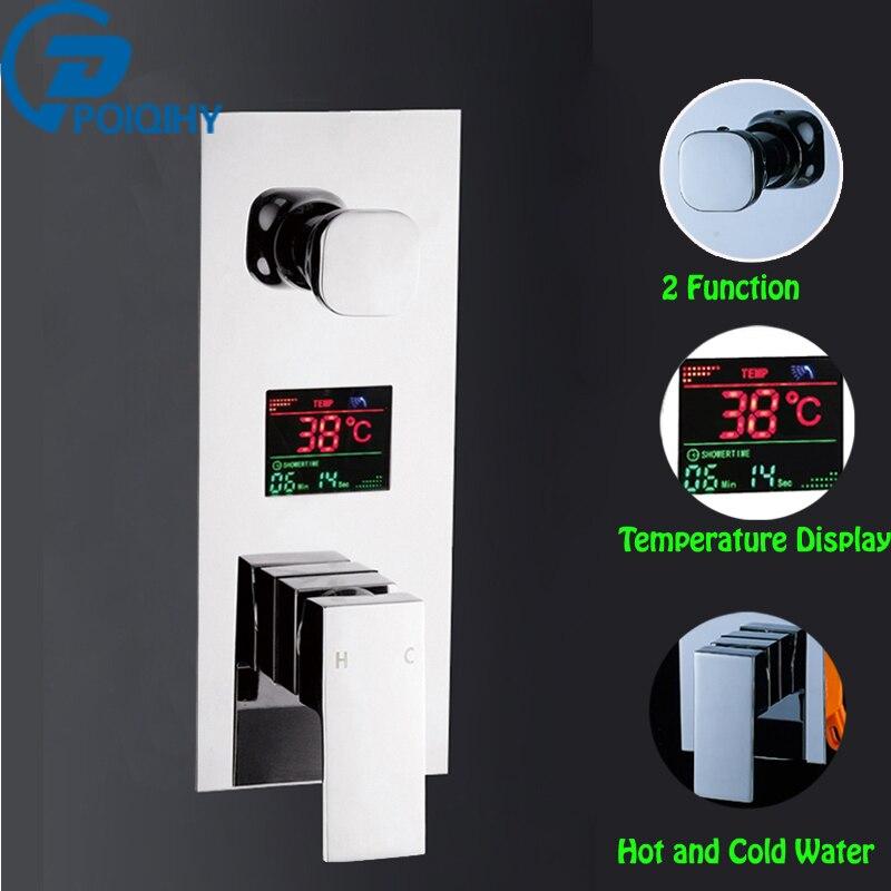 Здесь продается  New 2 ways  Bath Shower Valve  Chrome  Shower Control Cartridge Shower Wall Mount Stainless Steel Controller  Строительство и Недвижимость