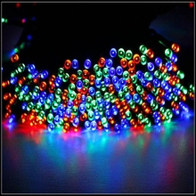 new multi color solar powered fairy string lights 39ft 12m 100 led christmas lights for holiday halloween decoration lights