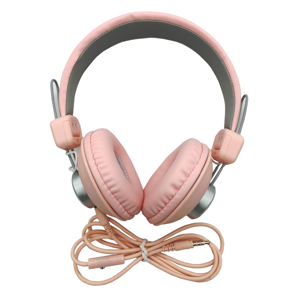 Portable Foldable Wired Earphones Headset Headphones With Mic Adult Children Gaming Headset Heavy Bass Stereo Fone De Ouvido