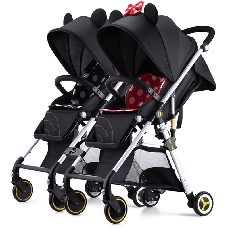 twins stroller  light folding High Landscape Can Sit Down And Split Child  Trolley can sperate double dtroller with  20pcs giftstwins stroller  light folding High Landscape Can Sit Down And Split Child  Trolley can sperate double dtroller with  20pcs gifts