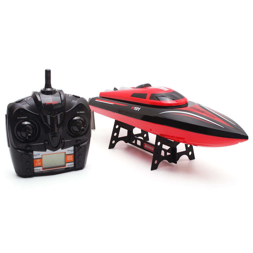 H101 High Speed RC Boat 2.4GHZ 4 Channel 30km/h Radio Remote Control RC Racing Boat Electric Toys RC Toys for Childern Gift