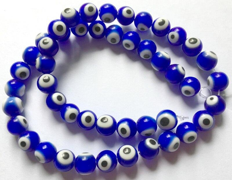 5 Stück See blau handgemachten Schmuck Handwerk Armband machen Lampwork