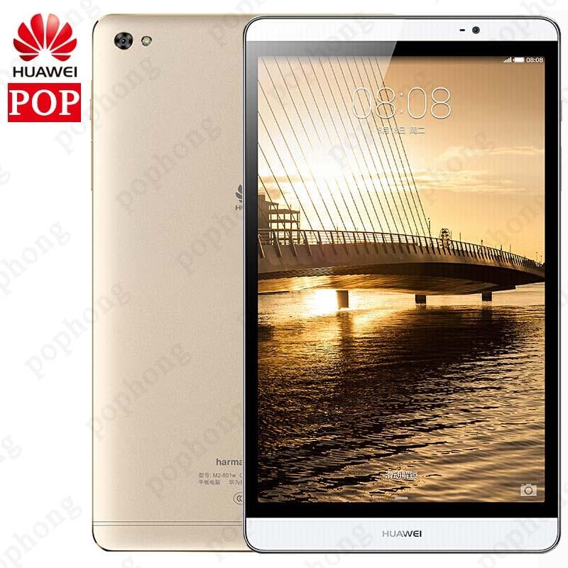 Original Huawei MediaPad M2 4G LTE Tablet PC 32GB ROM Kirin930 Octa Core Android 5.1 3G RAM 8.0 inch 1920X1200