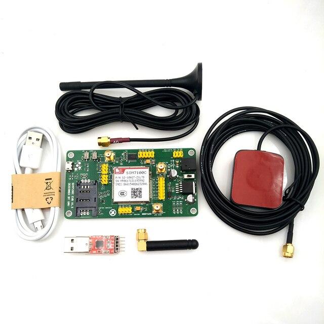חדש SIM7100C PCIE 4 גרם 4 גרם 3 גרם 2 גרם תקשורת מודול 5 עובש LTE TDD FDD GPS מודול