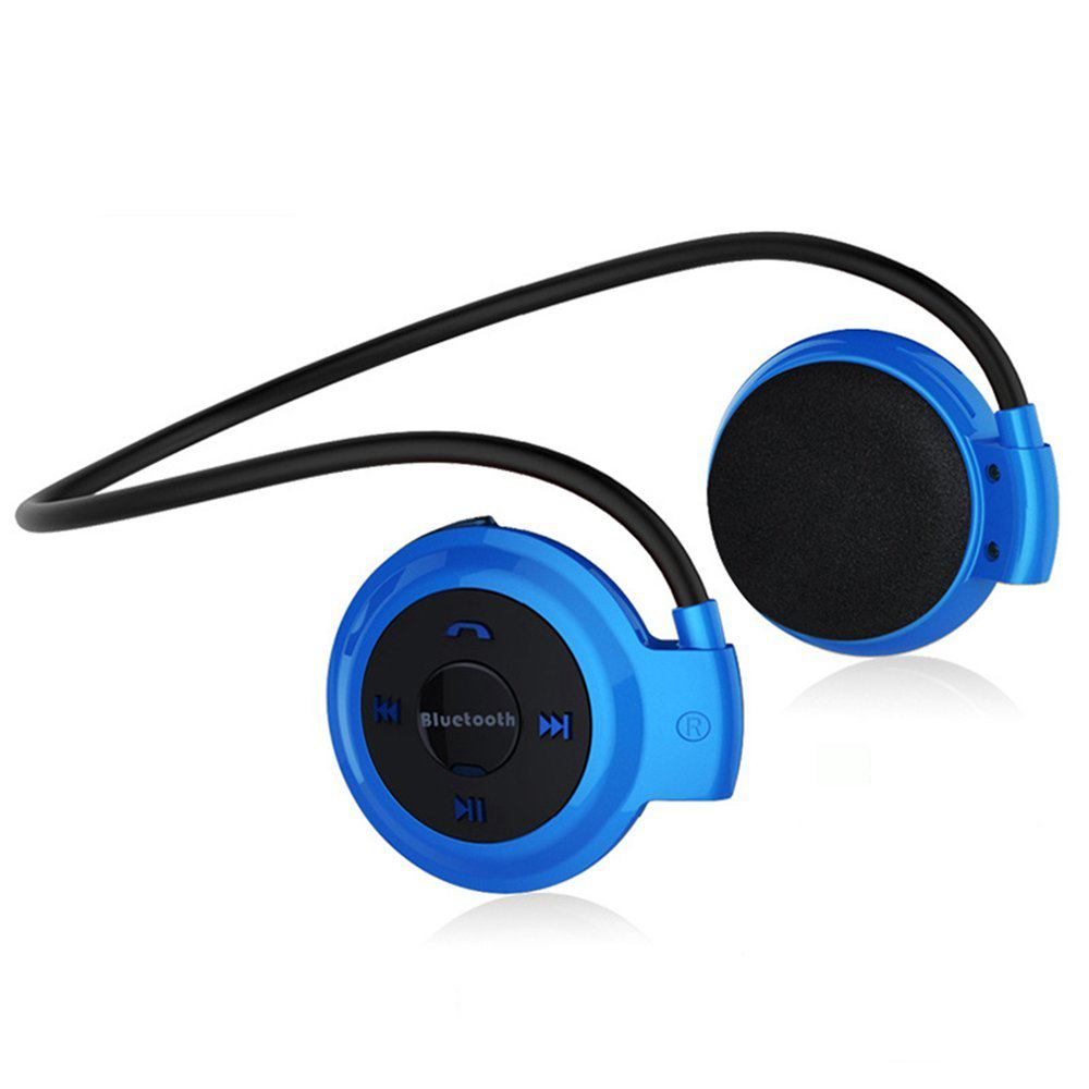 503 Bluetooth MP3 Player Wireless Sport Headset With FM Radio Stereo Earphone TF Card SD Card MP3 Max To 32GB