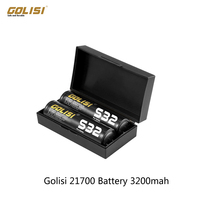 2pcs/4pcs/6pcs Golisi S32 20700 Battery 3200mah 30A CDR, Max 40A/ 3.7V 20700 cell for 20700 electronic Cigarettes Mod