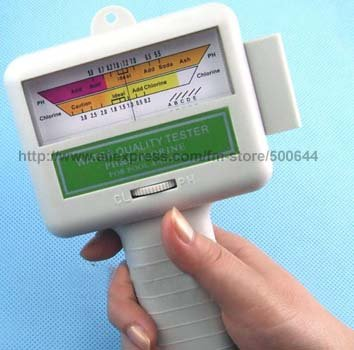 Home Swimming Pool Water PH CL2 Chlorine Meter/Spa Water Tester/Swimming Tester/Water Quality Tester & 2PCS/Lot Free Shipping  цены
