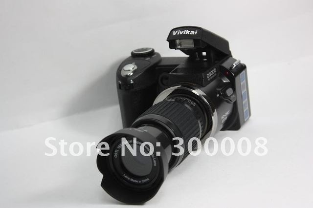 2012 newest Camera digital slr with wide angle,telescope and stardand lens,fashional camera