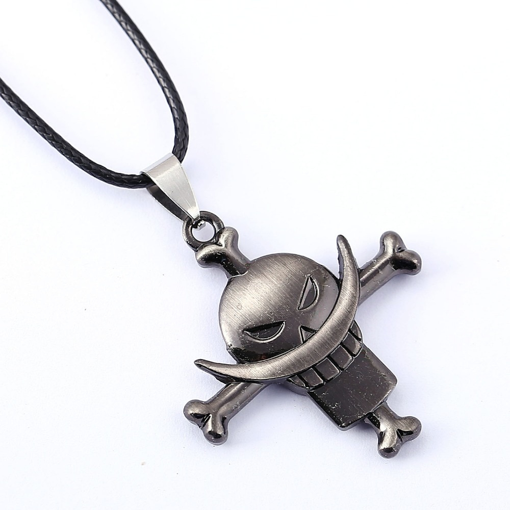 White beard Edward Newgate Anime Pendant Necklace ONE PIECE Necklace
