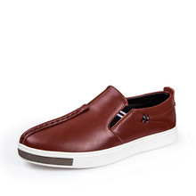 New Men's Casual Genuine leahter Loafers Shoes 2016 Men's Fashion shoes Breathable oxfords Zapatos de los hombres footwear shoes