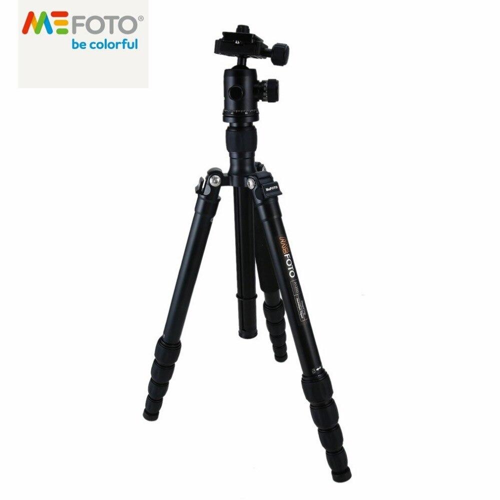 MeFOTO Klassische Aluminium Roadtrip Reisestativ/Einbeinstativ Kit Professionelle Stativ für SLR DSLR Kamera