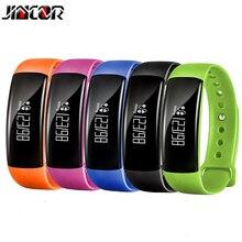 Jincor M88 Bluetooth Smart Браслет фитнес отслеживания движения измерять кровяное давление мониторинга сердечного ритма IP67 водонепроницаемый смарт-одежда